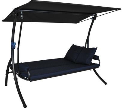 angerer elegance joy hollywood schaukel marineblau 3 sitzer dehner garten center. Black Bedroom Furniture Sets. Home Design Ideas