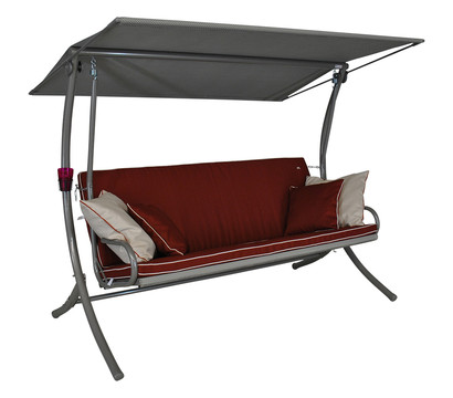 angerer hollywood schaukel royal style 3 sitzer dehner garten center. Black Bedroom Furniture Sets. Home Design Ideas
