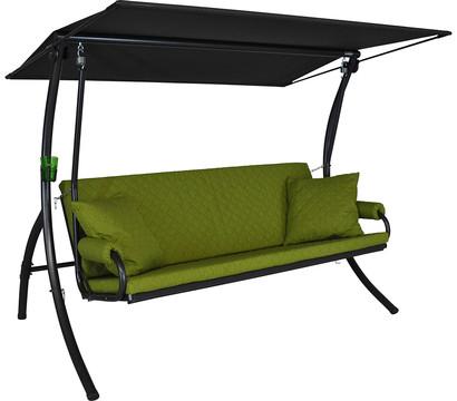 angerer hollywoodschaukel elegance joy apfelgr n 3 sitzer. Black Bedroom Furniture Sets. Home Design Ideas
