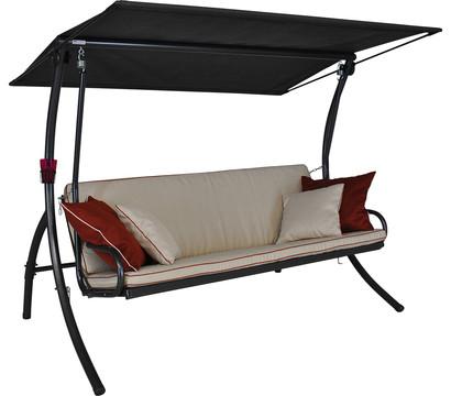 angerer hollywoodschaukel elegance style creme 3 sitzer dehner garten center. Black Bedroom Furniture Sets. Home Design Ideas