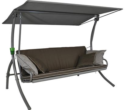 angerer hollywoodschaukel elegance style taupe 3 sitzer dehner garten center. Black Bedroom Furniture Sets. Home Design Ideas