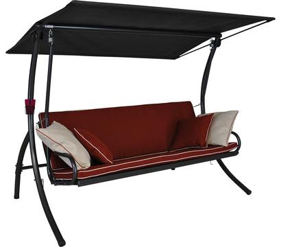 Angerer Hollywoodschaukel Elegance Style terracotta, 3-Sitzer