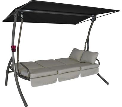 angerer hollywoodschaukel primero creme 3 sitzer dehner garten center. Black Bedroom Furniture Sets. Home Design Ideas