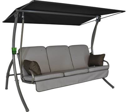 angerer hollywoodschaukel primero style beige 3 sitzer dehner garten center. Black Bedroom Furniture Sets. Home Design Ideas