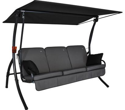 angerer hollywoodschaukel primero style grau 3 sitzer. Black Bedroom Furniture Sets. Home Design Ideas
