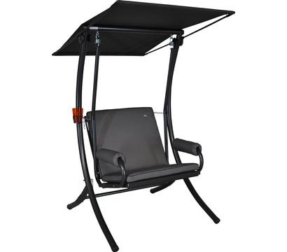 angerer hollywoodschaukel royal style single grau 1 sitzer dehner garten center. Black Bedroom Furniture Sets. Home Design Ideas