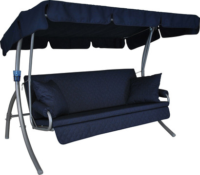 angerer joy hollywood schaukel marineblau 3 sitzer dehner garten center. Black Bedroom Furniture Sets. Home Design Ideas