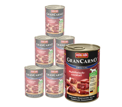 animonda GRANCARNO® Nassfutter Adult, 6 x 400g