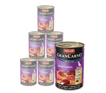 animonda GRANCARNO® Nassfutter Senior, 6 x 400g
