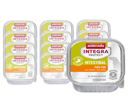 animonda Integra Protect Intestinal Pute Pur, Nassfutter, 11 x 150g