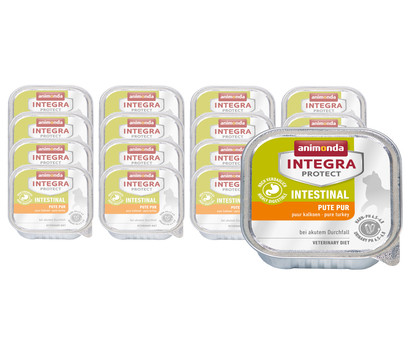animonda INTEGRA PROTECT Nassfutter Intestinal, 16 x 100g