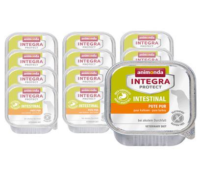 animonda INTEGRA PROTECT Nassfutter Intestinal Pute Pur, 11 x 150g