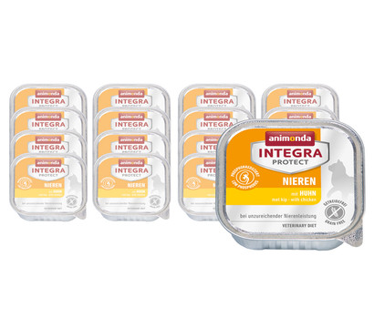 animonda INTEGRA PROTECT Nassfutter Nieren, 16 x 100g