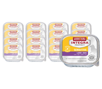 animonda INTEGRA PROTECT Nassfutter Sensitive, 16 x 100g