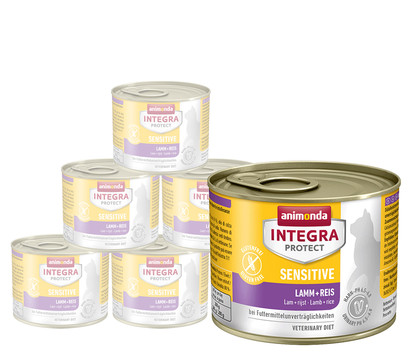 animonda INTEGRA PROTECT Nassfutter Sensitive, 6 x 200g