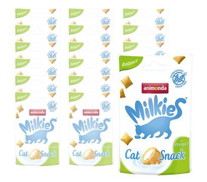 animonda Milkies® Katzensnack Knusperkissen Balance, 12 x 30g