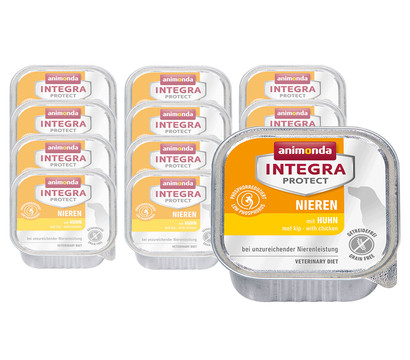 animonda Nassfutter Integra Protect Nieren, 11 x 150g