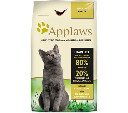 Applaws Trockenfutter Cat Grain Free Huhn Senior, 7,5kg