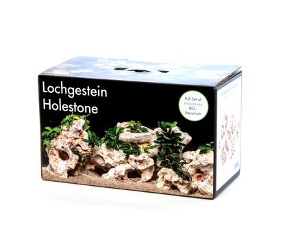 aquadeco Deko-Set Multi-Lochgestein für 80 Liter Aquarium