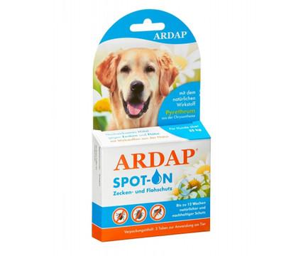 ARDAP® Zecken- und Flohschutz Spot-On für große Hunde, 3 x 4ml