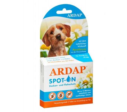 ARDAP® Zecken- und Flohschutz Spot-On für kleine Hunde, 3 x 1ml
