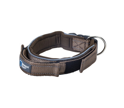 ArmoredTech® Hundehalsband Dog Control, mocca