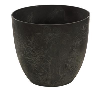 Artstone Kunststoff-Topf Bola, grau