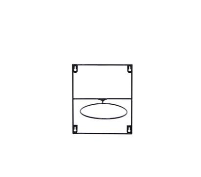 Artstone Metall-Topfregal Amy, 25 x 20 x 17 cm, schwarz