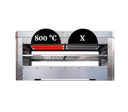 asteus elektro infrarot grill family edelstahl dehner. Black Bedroom Furniture Sets. Home Design Ideas