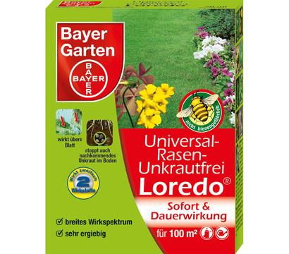 bayer universal rasen unkrautfrei loredo dehner garten center. Black Bedroom Furniture Sets. Home Design Ideas