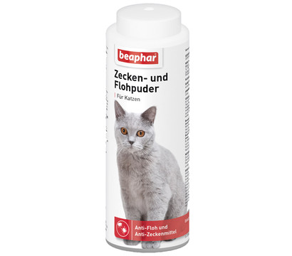Beaphar Zecken- & Flohpuder für Katzen, 100 g