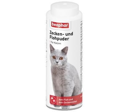 beaphar Zecken- & Flohpuder für Katzen, 100g
