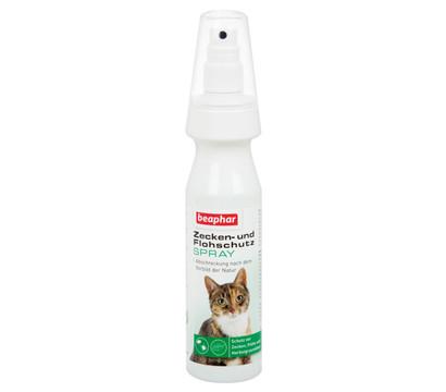 beaphar Zecken- und Flohschutz Spray für Katzen, 150ml