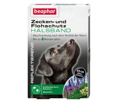beaphar Zecken- und Flohschutzband für Hunde, 65cm