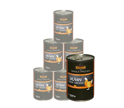 BELCANDO® Nassfutter Single Protein, 6x400g