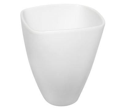 Übertopf aus Keramik, eckig, 21 x 18 cm