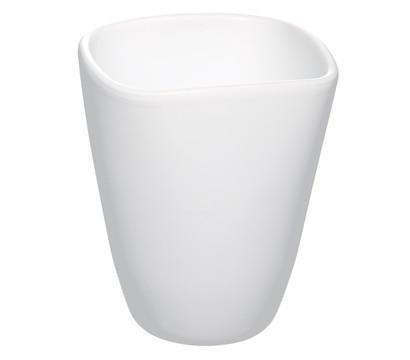 Übertopf aus Keramik, eckig