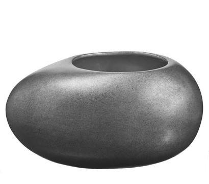 Übertopf aus Keramik, oval