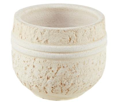 Übertopf aus Keramik, rund