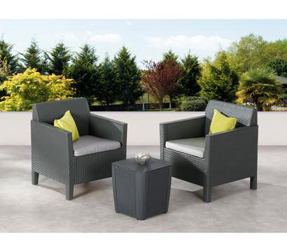 best balkon set amalfi graphit hellgrau 3 teilig. Black Bedroom Furniture Sets. Home Design Ideas
