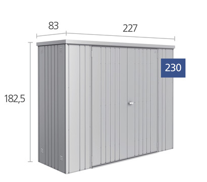 biohort ger teschrank 230 dehner garten center. Black Bedroom Furniture Sets. Home Design Ideas