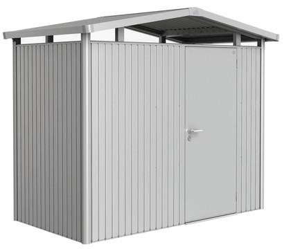 Biohort Metallgerätehaus Panorama® P1, Silber