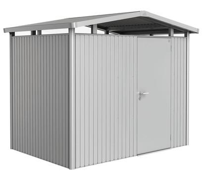 Biohort Metallgerätehaus Panorama® P2, Silber