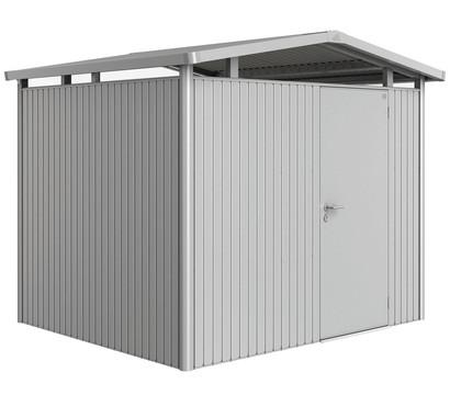 Biohort Metallgerätehaus Panorama® P3, Silber