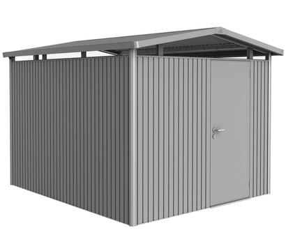 Biohort Metallgerätehaus Panorama® P5, Quarzgrau