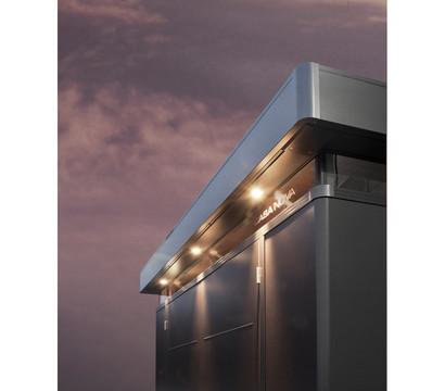 Biohort vier Ausfräsungen für Außenbeleuchtung CasaNova®