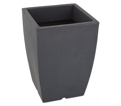 blumenk bel bologna aus kunststoff anthrazit eckig. Black Bedroom Furniture Sets. Home Design Ideas
