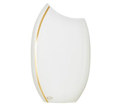Startseite Deko Innendekoration Vasen Blumenvase mit Gold-Dekor, weiß