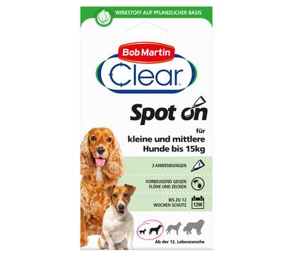 Bob Martin Clear Spot On für kleine Hunde, 12 Wochen