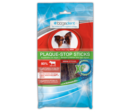 bogadent Plaque-Stop Sticks Mini, Hundesnack, 100g